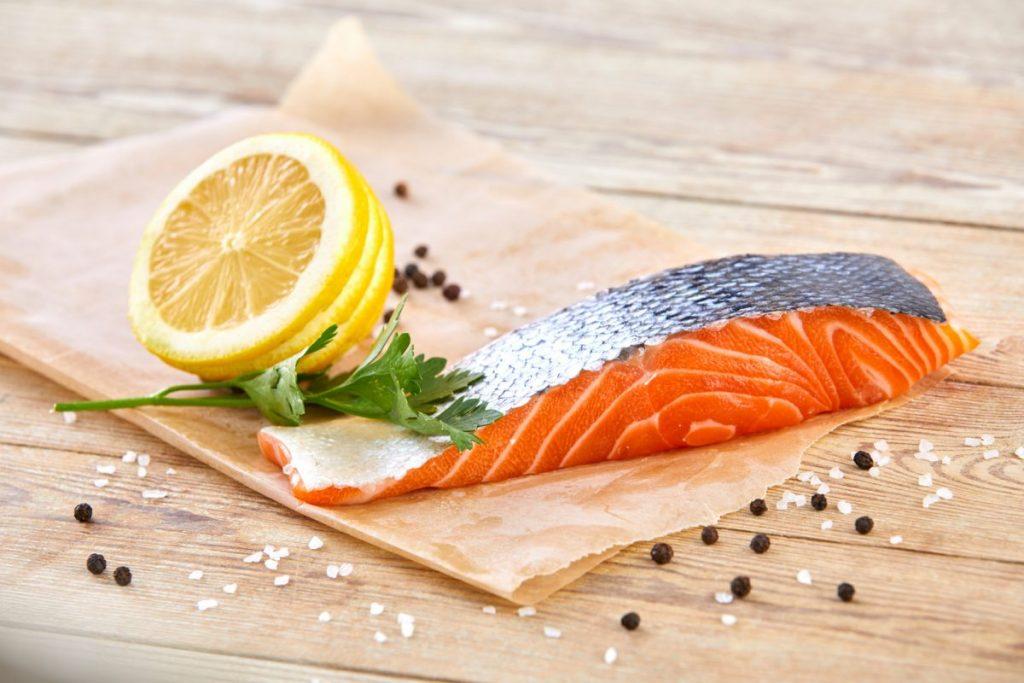 Healthy salmon